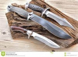 Tactical survival knives